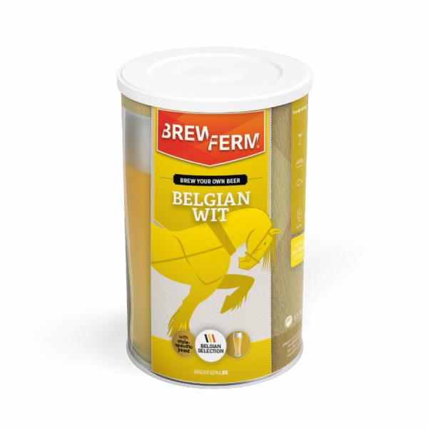 belgian wit concentré de brassage bière artisanale