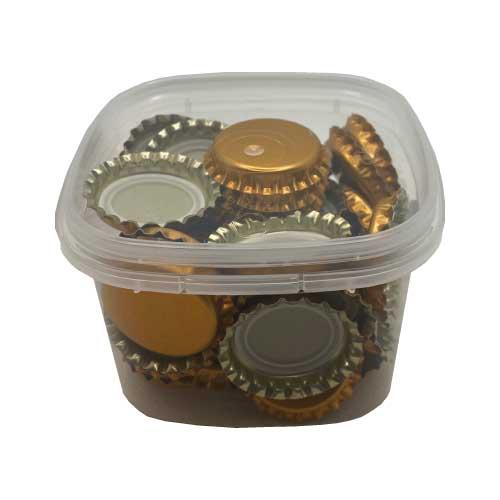 Kit de 50 Capsules diamètre 26mm couleur Cuivre